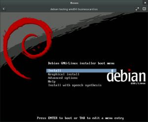 Debian Wheezy Boot