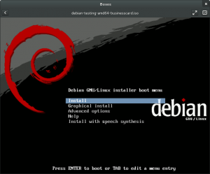 Debian Wheezy Boot