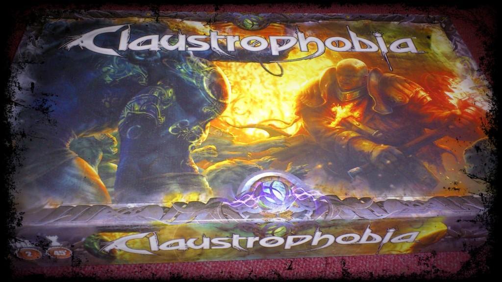 Claustrophobia, le jeu de plateau