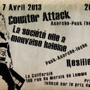 Counter Attack le 07 Avril En Californie