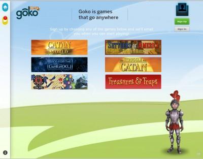 Prochains jeux goko.com