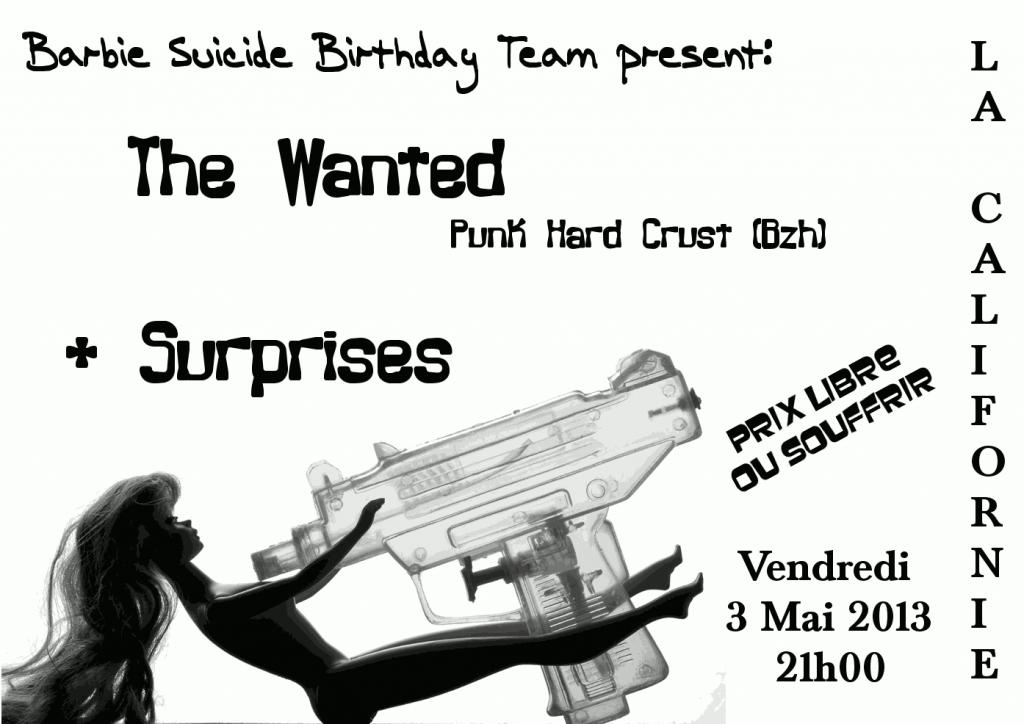 The Wanted le 3 mai en Californie