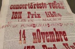 Concert Apéro à l'Amisère le 14 Nov!