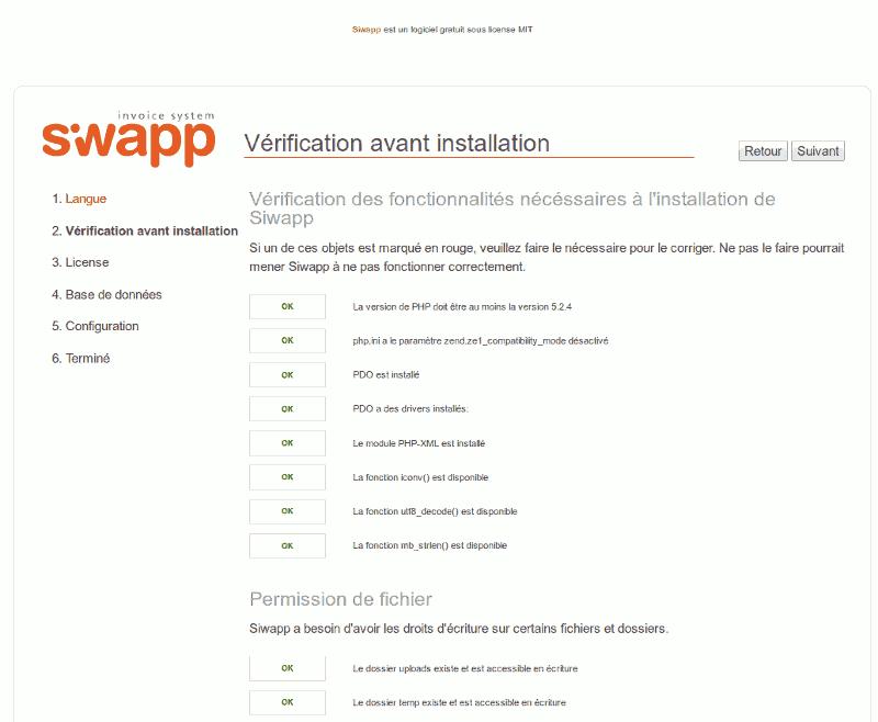 installation siwapp sur nginx