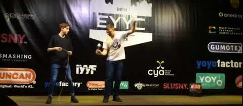 Eureopean Yo Yo Contest 2018 Daniel et Attila en duo