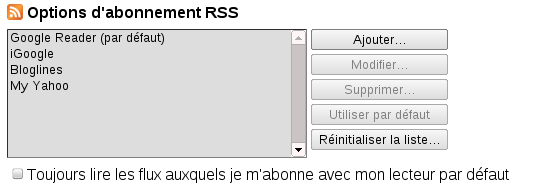Chrome rss manager