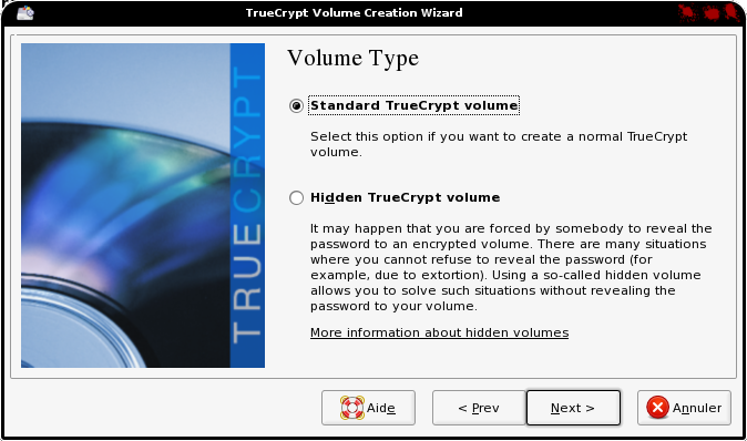 assistant truecrypt elive 2